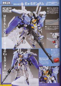 GUNDAM GUY: Ka Siguature x Robot Spirits (SIDE MS) Ex-S Gundam - Release Info