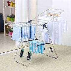 Easy Wall Mount Installation Avenue Ex Retractable Clothesline Sunlight Resistant | Heavy Duty Lines Double Line Hangs Wet or Dry Clothes 42 Feet per Line Indoor Outdoor Use