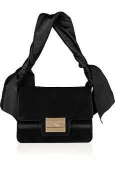 Z Spoke by Zac Posen  Suede and leather bag