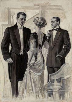 Joseph Christian Leyendecker, Illustration for Arrow Collar, 1907