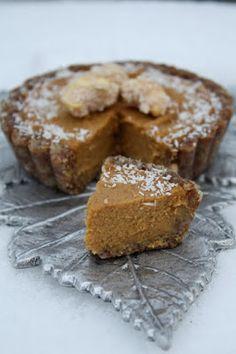 Sweetly Raw: Raw Pumpkin Pie