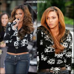 Bey Wearing House of Dereon Jacket Wicked