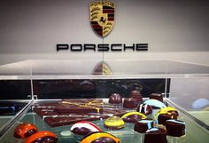 Our chocolates in display at @porschepuertorico for a private event hosted by @lujopuertorico magazine. #indulgechocolat #lujopuertorico #porsche #porschepuertorico #lujopr #porschepr #gomezhermanos #indulge