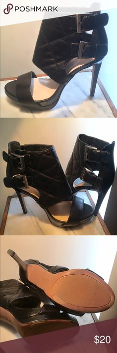 ‼️FINAL MARKDOWN‼️She's A Cutie!👀😍 Nine West beauties! Worn once. Nine West Shoes Heels