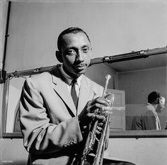 American jazz trumpeter and composer Joe Newman (1922 - 1992), circa 1960.