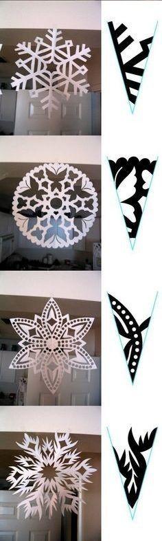 more snowflake patterns :)