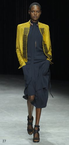 damir doma. Just the dress and shoes.