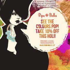 Pipa & Bella: Holi Promotion by Himadri Shukla
