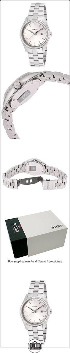 Rado HyperChrome Women's 38mm Silver Steel Bracelet & Case Date Watch R32112103  ✿ Relojes para mujer - (Lujo) ✿