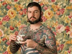 Tea and Tatoo. I need to meet this guy