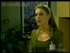 @LauraFloresH como Maria Fernanda de Santiago em Gotinha de Amor, Brasil - Cap 6