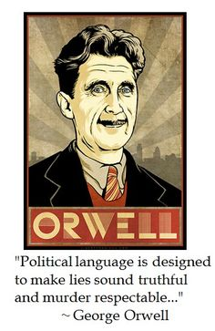 What were George Orwell's political views?