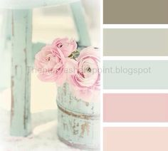 Soft girl nursery colors that still add contrast for that wow affect.