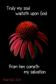 Psalm 62:1 KJV