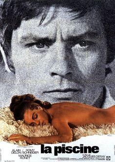 LA PISCINA (La Piscine; Francia;1969) Director: Jacques Deray.  Intérpretes: Alain Delón; Romy Schnaider; Jane Birkin; Maurice Ronet .