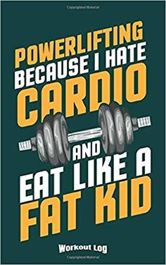 My Powerlifting Workout Log: Funny Training Aid Gift Idea for Bodybuilding and Powerlifting Fans, Gym, Workout, Training and Fitness Lovers and . Workout Log, Workout Humor, Funny Workout, Bodybuilder, Exercise For Kids, Trainer, Cardio, Fitness, Gym