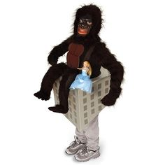 halloween costumes king of the asphalt jungle gorilla costume