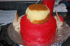 How to make a Rocket cake for Little Einstein's Bday Party.. guess I'll become a cake decorator :)