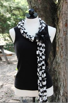T-Shirt Scarves: The Perfect Gift!