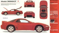 Loved this car - Mitsubishi 3000 GT