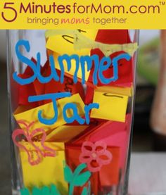 Beat summer boredom with this fun Summer Jar.