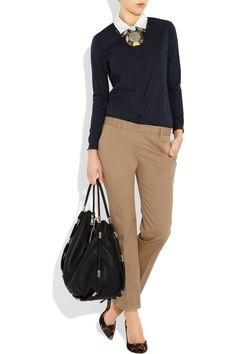 Travel Mondays? Cute possible outfit for monday flights straight into client site.
