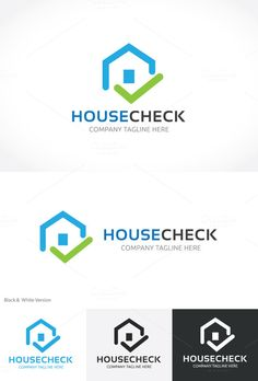 House Check by Super Pig Shop on @creativemarket