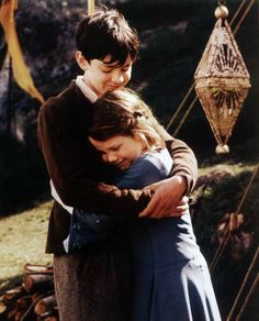 Edmund and Lucy from Narnia.