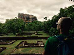 Hiking up Lion's Rock in Sigiryia! #LionsRock #wanderlustlama #Sigiryia #WorldHeritageSiteInSriLanka #SriLankaAttraction #ThingsToDoInSriLanka #HikingInSriLanka