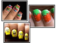 step by step toe nail designs - Google Search
