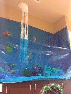 Aquarium VBS Decor  Weird Animals 2014