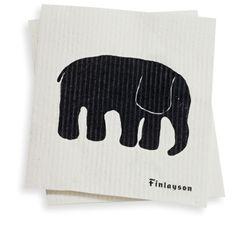 Finlayson Elephant dish cloth I Elefantti-siivousliina 3 €