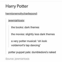 I highly suggest the Harry Potter musicals to anyone, just look them up on YouTube!