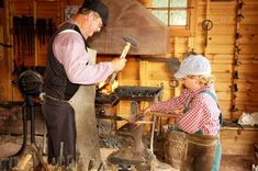 the spirited history of the west comes to life at rock ledge ranch historic site in colorado springs!  #familyfun