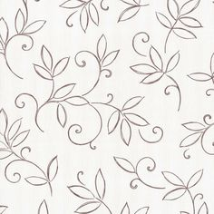 Finesse wallpaper P+S wallpaper flowers cream brown Wallpapers P+S Inte… Hand Embroidery Design Patterns, Hand Embroidery Videos, Hand Embroidery Flowers, Hand Embroidery Patterns, Diy Embroidery, Embroidery Stitches, Brown Wallpaper, Wallpaper Wallpapers, Cushion Embroidery