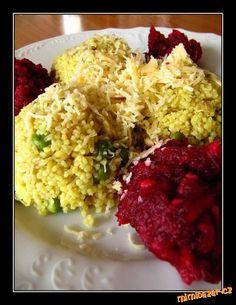 kari Kuskus se zeleninou a kuř. masem