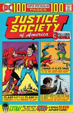 Cover for Justice Society of America 100-Page Super Spectacular, No. 1, 1975 Issue (DC, 2000 series) #[nn]