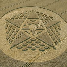 Crop Circle at Beckhampton, Wiltshire, UK - 26 August 2002