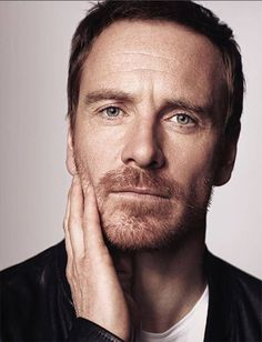 Michael Fassbender photo of the cover of 'Time Out London' magazine, December 2016-January 2017 - photo by John Russo