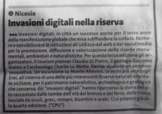 #invasionidigitali #nicosia Press Release, Success, Social Media, Culture, Social Networks