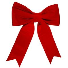 """Huge Commercial Grade Red Velveteen Bow Item #L697448 Use it for oversized wreaths, decorating super large deluxe presents or as a showpiece on a tree, the possibilities are endless. 2-Loop Bow Equipped with a heavy duty hanger on back For indoor/outdoor use UV resistant Dimensions: 50""""H x 48""""W x 7""""D Material(s): fabric/foam filling"""
