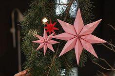 Diese sterne machen s chtig sie sind einfach und schnell - Moma weihnachtskugeln ...