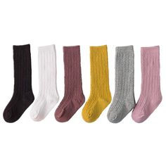 High Elasticity Girl Cotton Knee High Socks Uniform Electric Bubble Insects Women Tube Socks