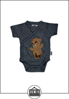 Cuda Boo, Pijama de una pieza de manga, la razón: Cachorro de león, Grey (Gris) 3 - 6 meses  ✿ Regalos para recién nacidos - Bebes ✿ ▬► Ver oferta: http://comprar.io/goto/B00TQTD63E