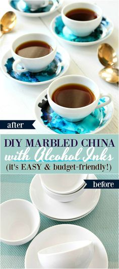 How to Use Alcohol Ink on Ceramics