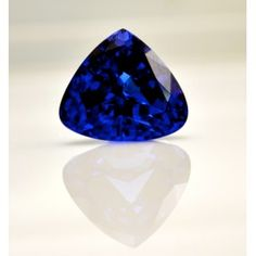 44.83 Carat Tanzanite Trillion Cut Rare and Flawless Loose Stone - SalmaJewelry.com - ONE OF A KIND ON SALE NOW FOR  $46,000.00