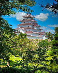Aizu Castle, Japan