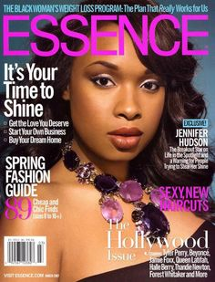 Jennifer Hudson - Essence Magazine [United States] (March 2007)