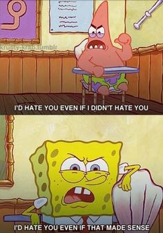 Spongebob squarepants is my absolute FAVORITE tv show of all time!!!!!