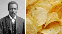Crum. Potato chip creator. Black history